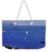 The Adriatic Sea Weekender Tote Bag