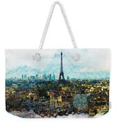 The Aesthetic Beauty Of Paris Tranquil Landscape Weekender Tote Bag