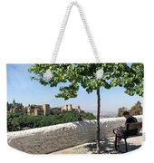 The Alhambra From Sacromonte Weekender Tote Bag