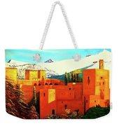 The Alhambra Of Granada Weekender Tote Bag