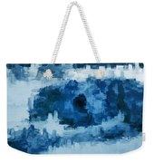 The All Seeing Blue Eye Weekender Tote Bag