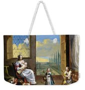 The Allegory Of Childhood Weekender Tote Bag