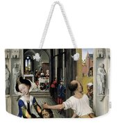 The Altar Of St. John, Right Panel Weekender Tote Bag