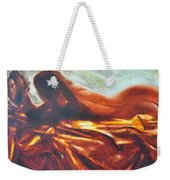 The Amber Speck Of Light Weekender Tote Bag by Sergey Ignatenko