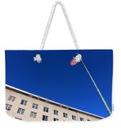 The American Flag At The United States Department Of State Weekender Tote Bag