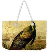 The American Wild Turkey Cock Weekender Tote Bag