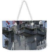 The Amphibious Assault Ship Uss Boxer Weekender Tote Bag