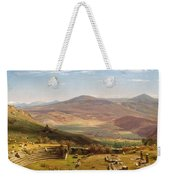 The Amphitheatre Of Tusculum And Albano Mountains. Rome Weekender Tote Bag