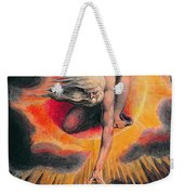 The Ancient Of Days Weekender Tote Bag by William Blake