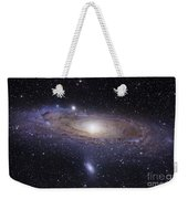 The Andromeda Galaxy Weekender Tote Bag by Robert Gendler