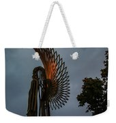 The Angel At Christmas Weekender Tote Bag