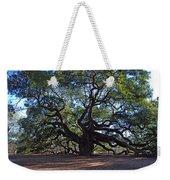 The Angel Oak In Spring Weekender Tote Bag