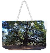 The Angel Oak In Spring Weekender Tote Bag