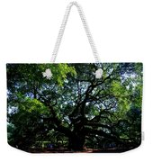 The Angel Oak In Summer Weekender Tote Bag