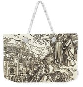 The Angel With The Key To The Bottomless Pit Weekender Tote Bag