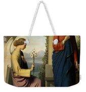 The Angelic Salutation Weekender Tote Bag