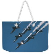 The Angels Are Coming Weekender Tote Bag