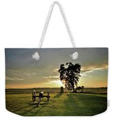 The Angle Weekender Tote Bag