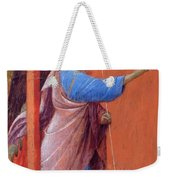 The Annunciation Fragment 1311 Weekender Tote Bag