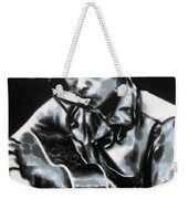 The Answer My Friend Is Blowin In The Wind Weekender Tote Bag by Luis Ludzska