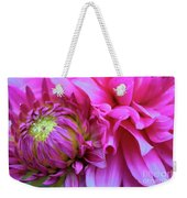 The Anticipation Of Dahlia 3 Weekender Tote Bag