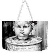 The Antique Doll's Head Weekender Tote Bag