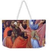 The Apostles Of Maria Fragment 1311 Weekender Tote Bag
