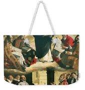 The Apotheosis Of Saint Thomas Aquinas Weekender Tote Bag by Francisco de Zurbaran