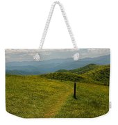 The Appalachian Trail Crossing Max Patch Weekender Tote Bag