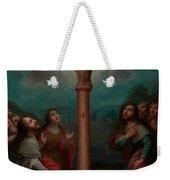 The Apparition Of The Virgin Of El Pilar To St. James Weekender Tote Bag