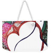 The Apple And Pear Weekender Tote Bag