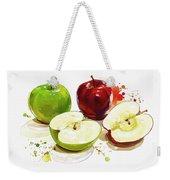 The Apple Focus Weekender Tote Bag