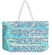 The Aquarian Philosophy Weekender Tote Bag