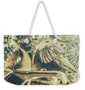 The Aquatic Abstraction Weekender Tote Bag