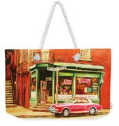 The Arcadia Five And Dime Store Weekender Tote Bag