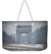 The Arch At Valley Forge Weekender Tote Bag