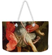 The Archangel Michael Defeating Satan Weekender Tote Bag