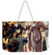 The Arming Of Perseus 1885 Weekender Tote Bag