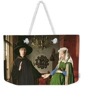 The Arnolfini Marriage Weekender Tote Bag