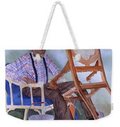 The Art Of Caning Weekender Tote Bag
