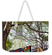 The Art Of Jackson Square Weekender Tote Bag