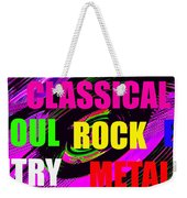 The Art Of Music Pano Work A Weekender Tote Bag