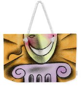 The Art Of Smiling Weekender Tote Bag