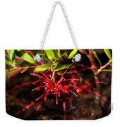 The Art Of Spider Flower Weekender Tote Bag