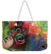 The Art Of The Net Weekender Tote Bag