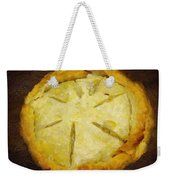 The Art Of The Pie Weekender Tote Bag