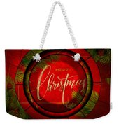 The Art Of Vhristmas Cheer Weekender Tote Bag