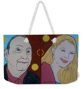 The Artist And His Muse Weekender Tote Bag