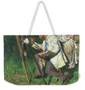 The Artist And The Apprentice  Weekender Tote Bag