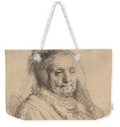 The Artist's Mother, Head And Bust Weekender Tote Bag